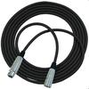 RapcoHorizon 25' Microphone Cable with Neutrik XLR Female to Male Connectors (Stock)