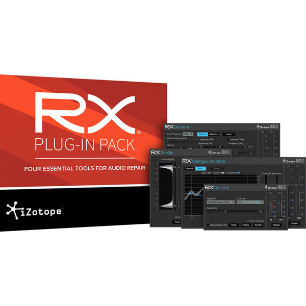 Izotope rx plug in pack   audio repair plug in bundle %28activation card  download%29   new in box