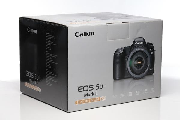 Canon 5d ii box
