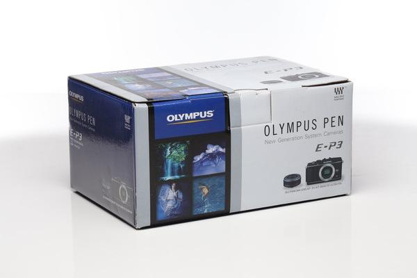 Olympus pen e p3 box