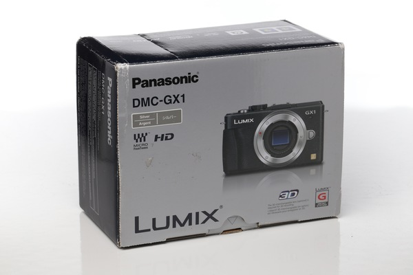 Panasonic gx1 box
