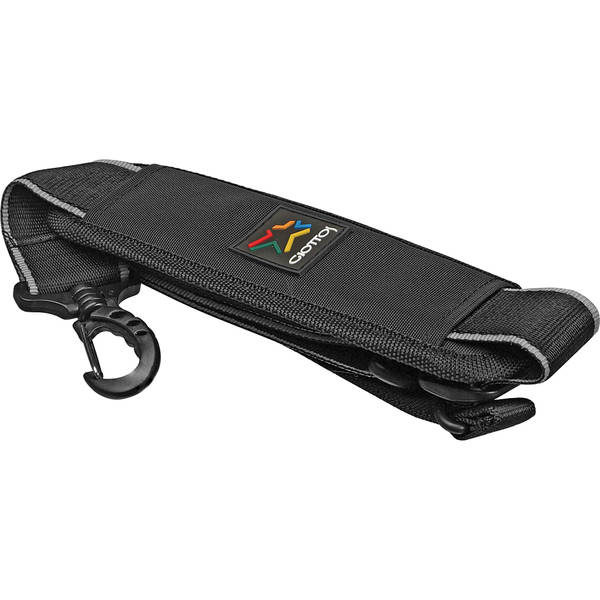 Giottos deluxe adjustable shoulder strap for giottos mt series tripods