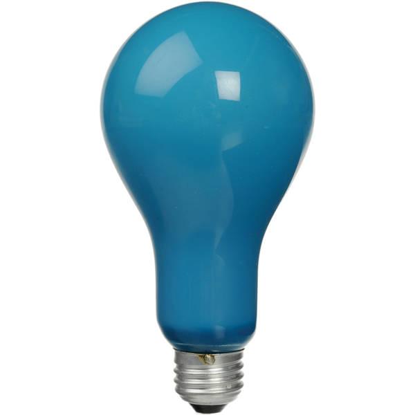 Ushio bca 115 120v   250w incandescent photoflood lamp   blue