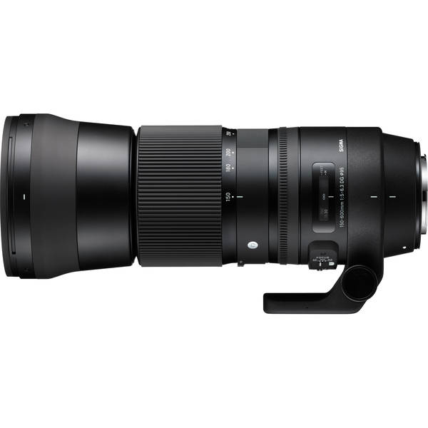 Sigma 150 600mm f 5 6.3 dg os hsm contemporary for canon
