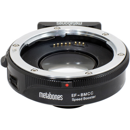 Metabones canon ef lens to blackmagic cinema camera with m4 3 mount speed booster