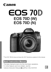 Canon 70d manual