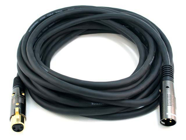 Monoprice 25' premier series xlr male to female 16awg cable