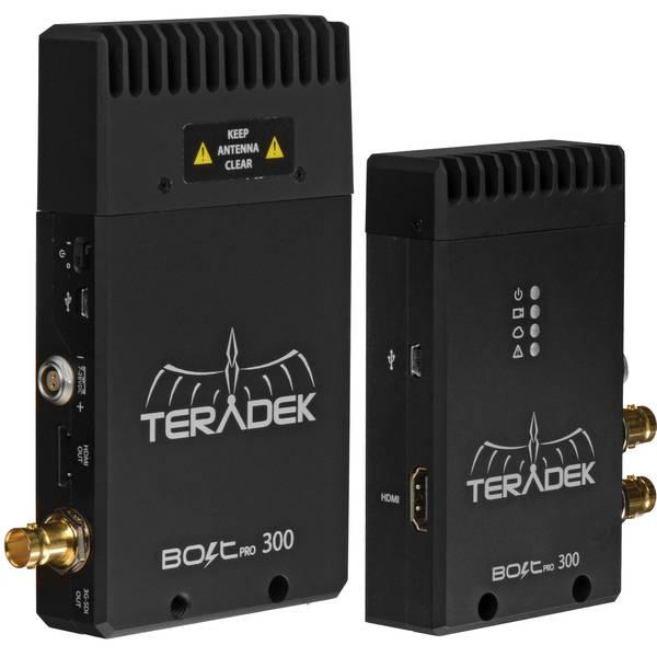 Teradek bolt pro 300 wireless hd sdi hdmi dual format video transmitter receiver set