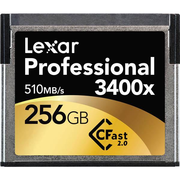 Lexar cfast 256gb 510mb s 2.0 memory card