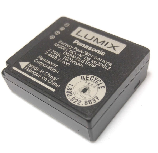 Panasonic dmw blg10pp battery