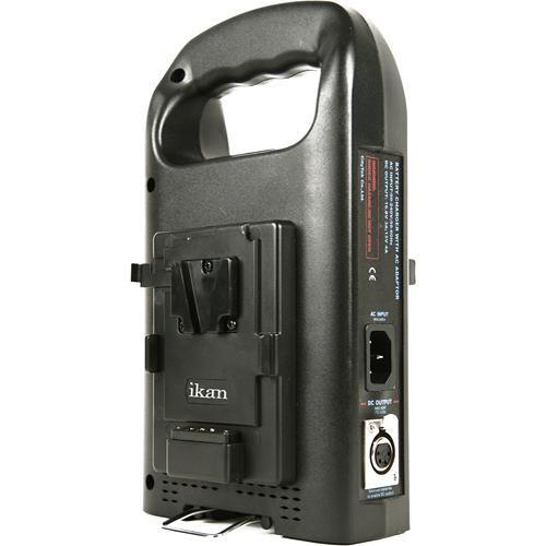 Ikan c 2ks portable dual battery charger