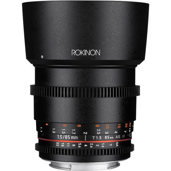 Rokinon 85mm t1.5 cine ds for sony e mount