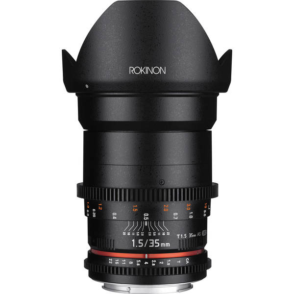 Rokinon 35mm t1.5 cine ds for sony e mount