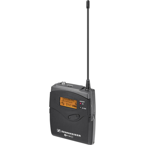 Sennheiser sk 100 g3 wireless bodypack transmitter   a  516 558 mhz