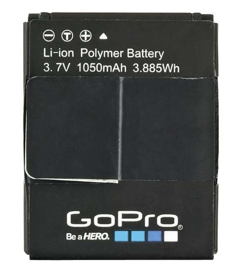 Gopro ahdbt 201 battery %285 pack%29