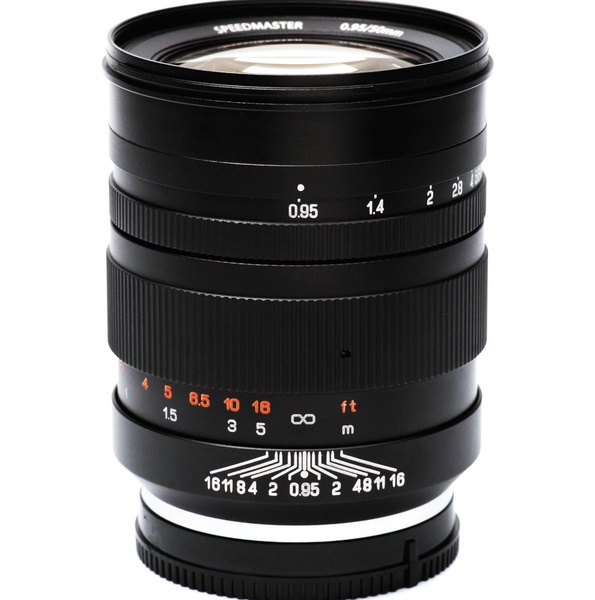 Mitakon mtk50mf095bk 50mm for 0 95 lens 1072733