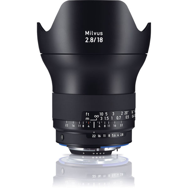 Zeiss milvus zf.2 18mm f 2.8 for nikon
