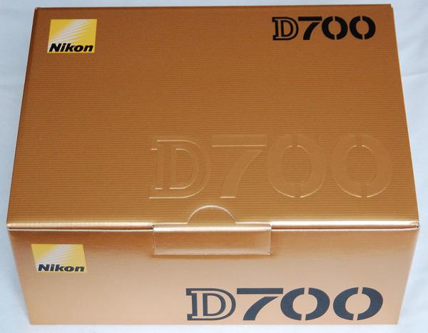 Nikon d700 camera box