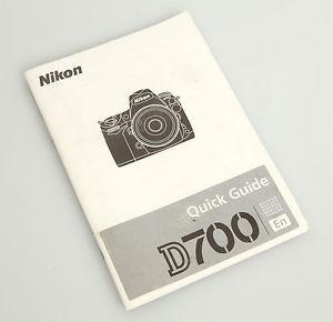 Nikon d700 quick guide