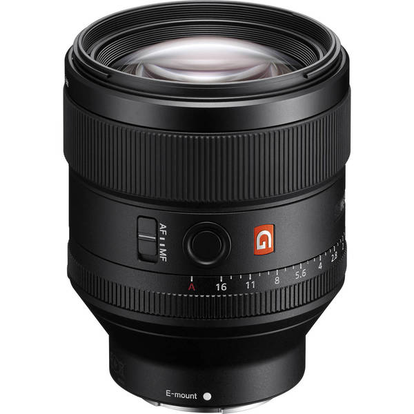 Sony fe 85mm f 1.4 gm e mount lens