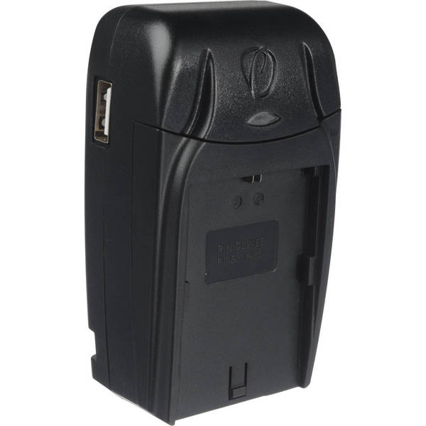 Pearstone compact charger for canon lp e6 battery