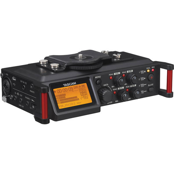 Tascam dr 70d 4 channel audio recorder