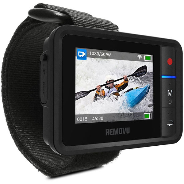 Removu r1  waterproof wearable wi fi live view remote for gopro