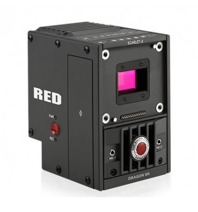 Red scarlet x dragon 6k 19mp digital cinematography camera brain only