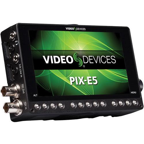 Video devices pix e5 5%22 4k recording video monitor
