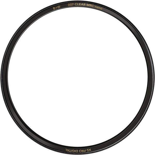 B w 58mm xs pro clear mrc nano 007 filter