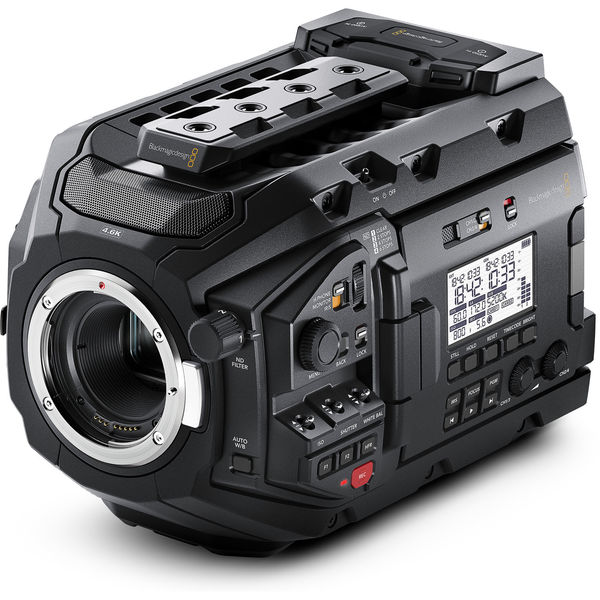 Blackmagic design ursa mini pro 4.6k digital cinema camera   ef mount