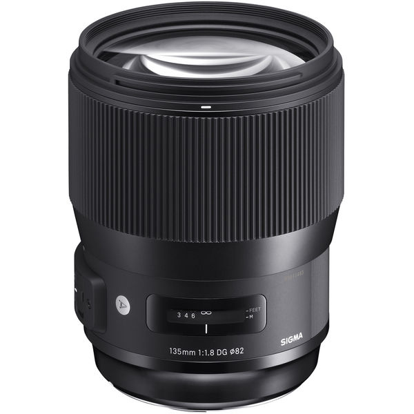 Sigma 135mm f 1.8 dg hsm art lens for nikon