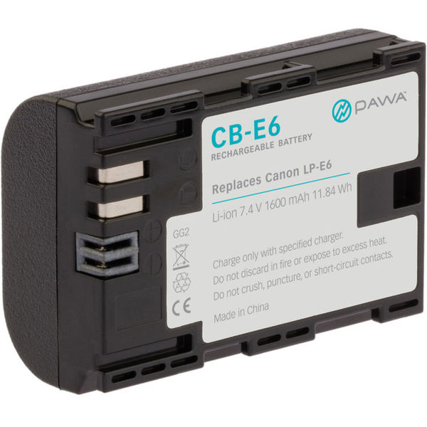 Pawa lp e6 lithium ion battery pack