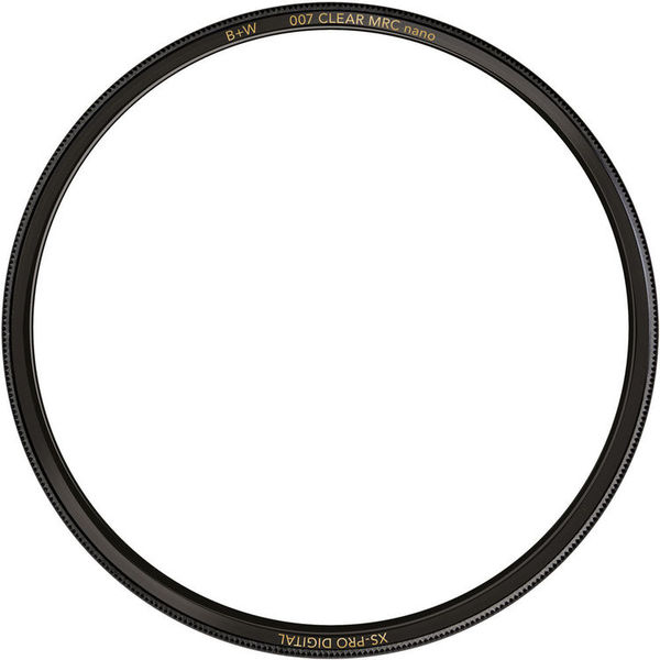 B w 62mm xs pro clear mrc nano 007 filter