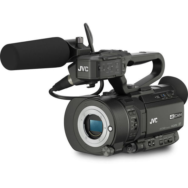 Jvc gy ls300 4kcam handheld s35mm camcorder