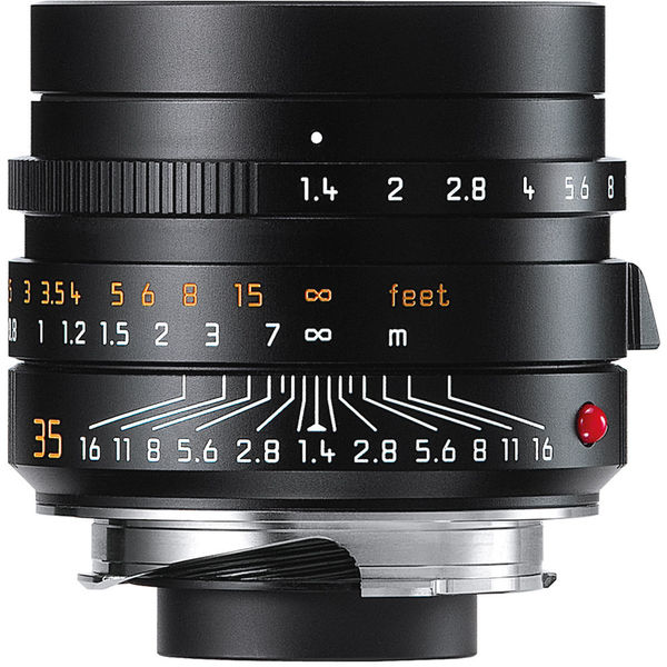 Leica 11663 35mm f 1 4 summilux m aspherical 720355