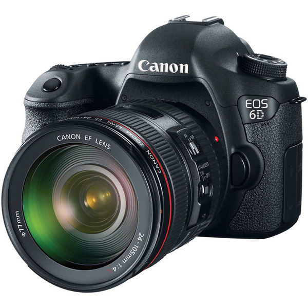 Canon eos 6d camera   24 105mm f 4l is usm lens