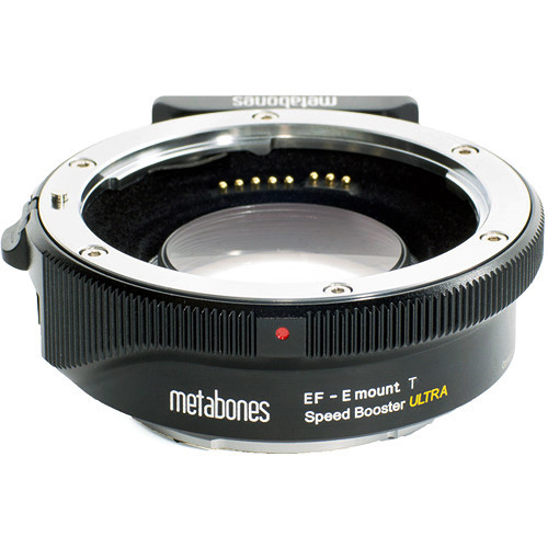Metabones canon ef to sony e speed booster t ultra