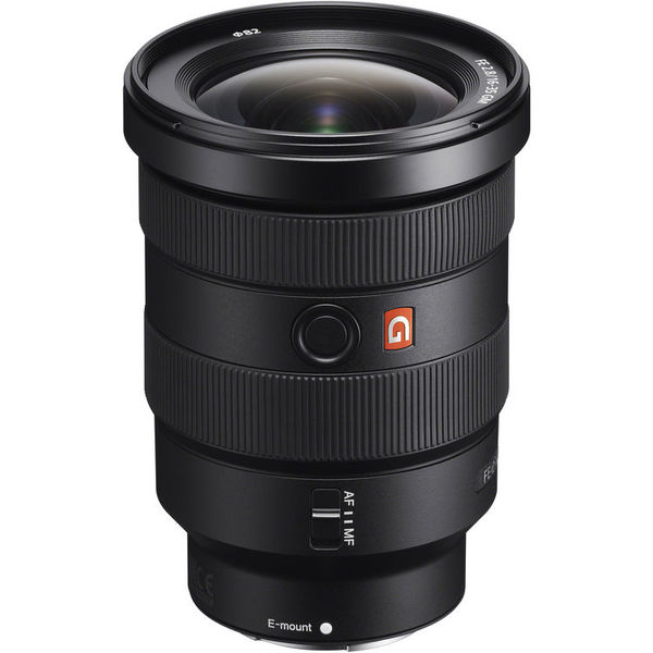 Sony fe 16 35mm f 2.8 gm e mount lens