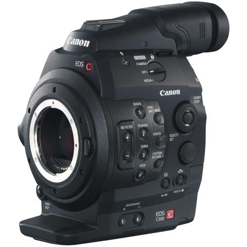 Canon eos c300 ef cinema camera   dual pixel cmos af