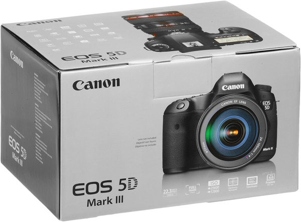 Canon eos 5d mark iii camera box