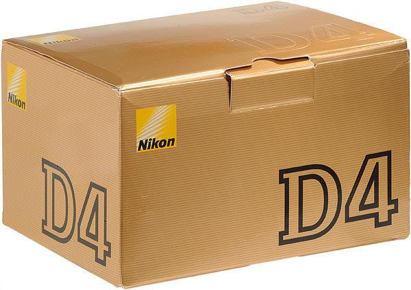 Nikon d4 camera box