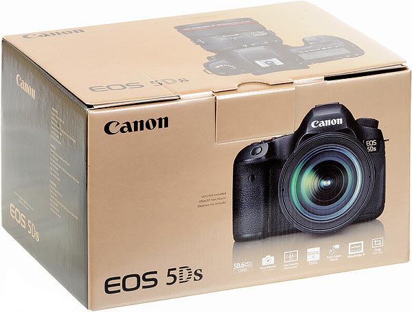Canon eos 5ds camera box