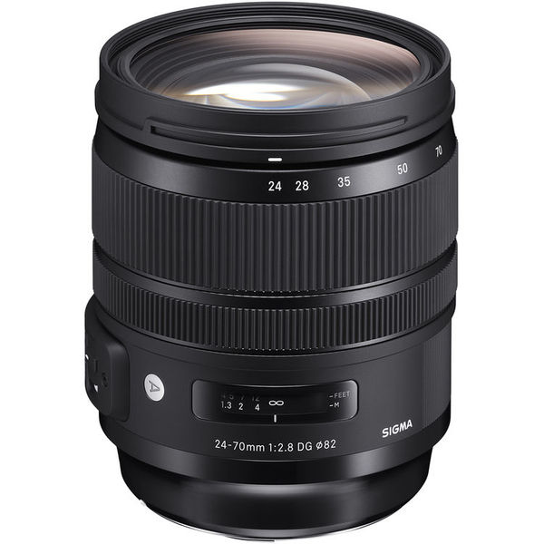 Sigma 24 70mm f 2.8 dg os hsm art for canon