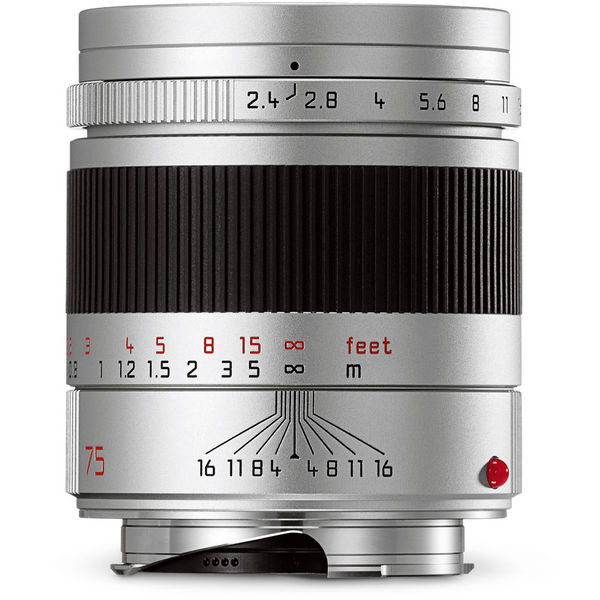 Leica 11683 summarit m 75mm f 2 4 lens 1082904