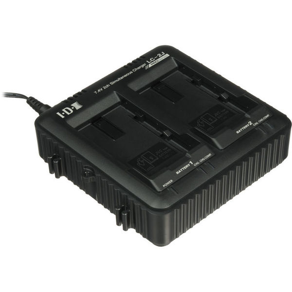 Jvc lc 2j dual charger for ssl jvc50 7.4v jvc batteries