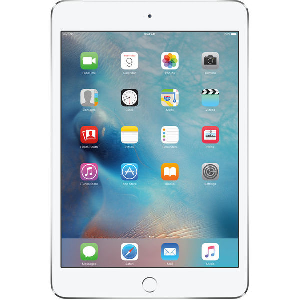 Apple 128gb ipad mini 4   wi fi   4g lte   silver
