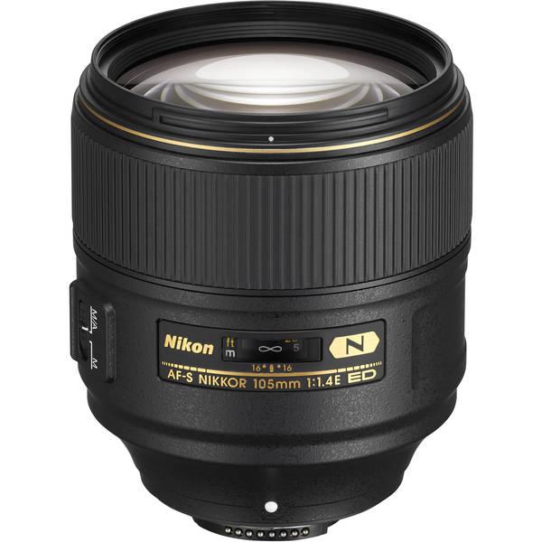 Nikon af s nikkor 105mm f 1 4e 1269658