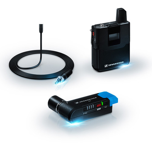 Sennheiser avx camera mountable lavalier pro digital wireless set   mke2 lavalier