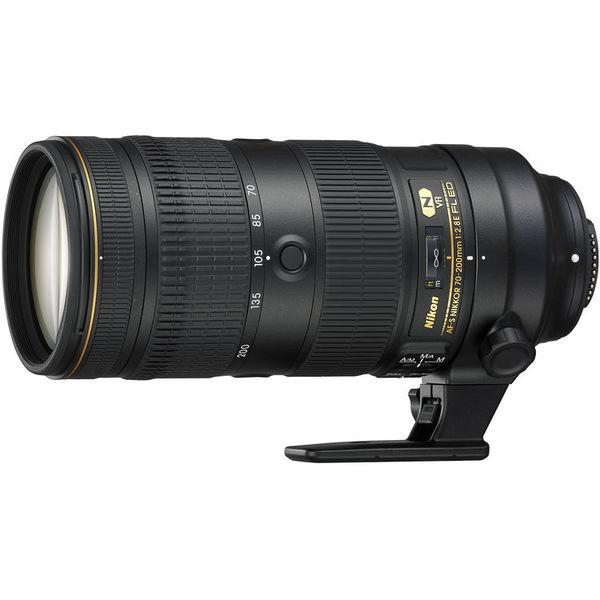 Nikon 70 200mm f 2.8e fl ed af s vr